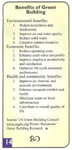 Benefits of Green Building