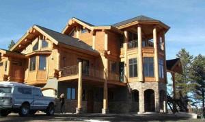Large Custom Timber Frame Home