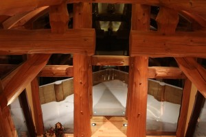 Beautiful Western Red Cedar Beams