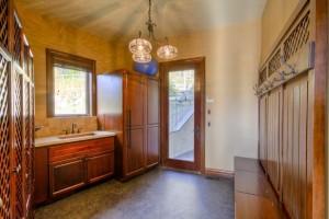 Large Mud Room in Log Home