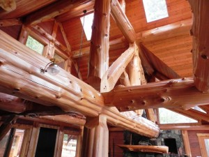Beautiful beams on display at the Reichman Project