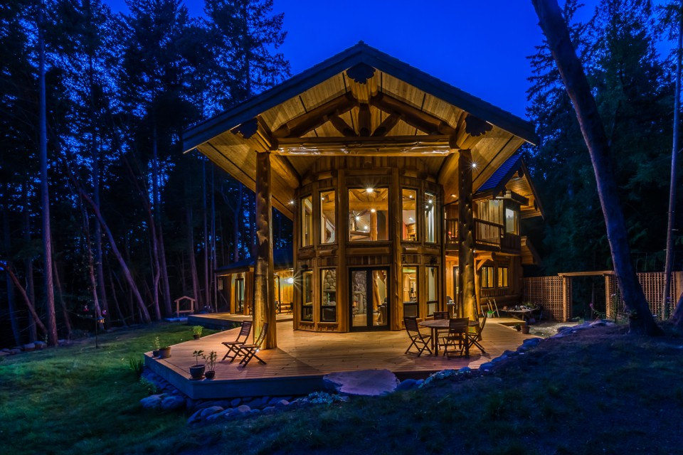 Beautiful Timber Frame Home