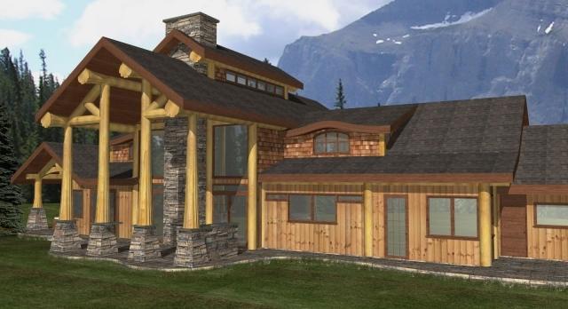 111841 streamline design for Alpine house plans
