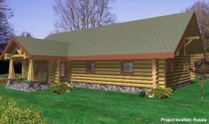 backyard-view-of-log-home-plans