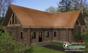 log-home-plans-front-of-cabin