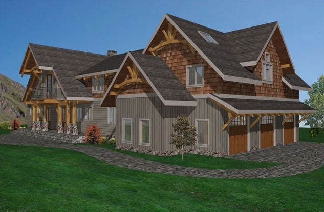 Sun Valley Timber Frame Home 4488sqft Streamline Design