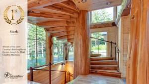 west-coast-home-designs-spiral-log-staircase
