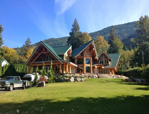 Rockwell B&B Log Home Design