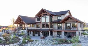 Timber-frame-house