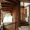 Spiraling stairwell