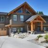 West coast style home entrance