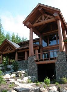 West Coast Style Home Balcony
