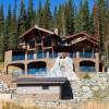 Large luxury log home