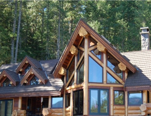 Ruby Lake Log Home Design