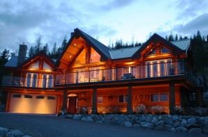 custom log home cabin designs