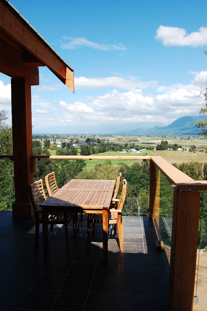 patio overlooking stunning view