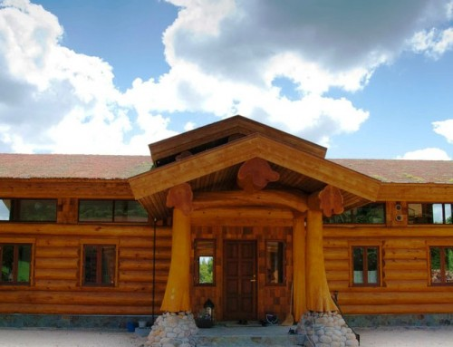 Greenville Log Home Design