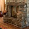 fireplace centerpiece