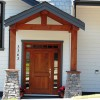 New home front door