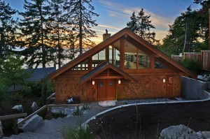 Davis Bay Timber Frame Home