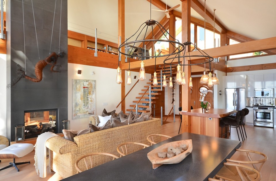 Davis Bay Timber Frame Home 3