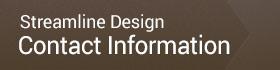 Streamline Designs Contact Information