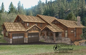 Lottinville Timber Frame Home by Streamline Design