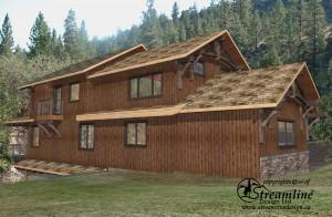 Lottinville Timber Frame Home by Streamline Design