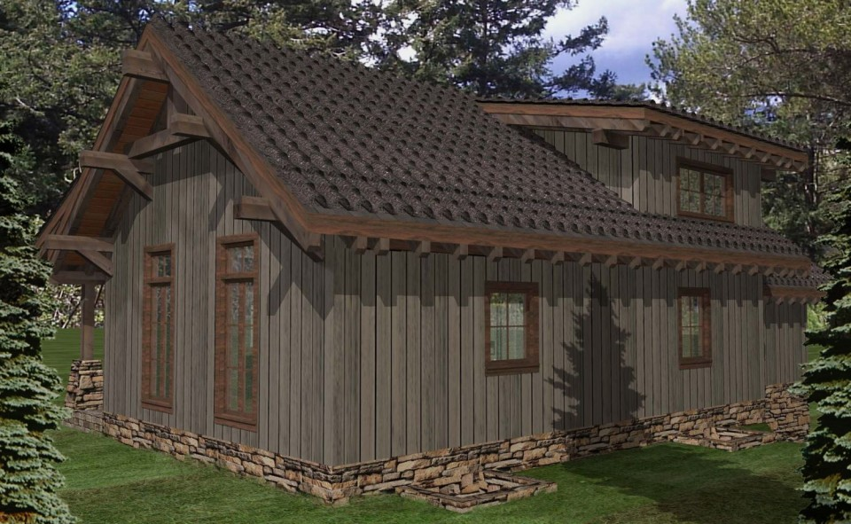 New Yorker Timber Frame