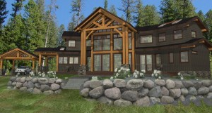 Allison Timber Frame Plan