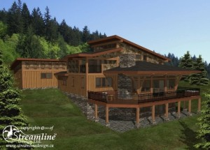 Anmore Woods Timber Frame Plan