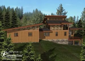Anmore Woods Timber Frame Plan