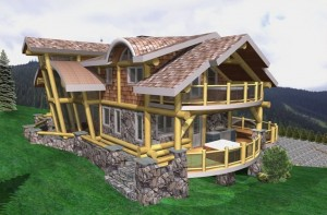 Bella Vista Log Home Plans