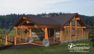Benvenuto Log Home Plans
