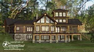 Bonnyville Log Home Plans