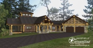 Bonnyville Log Home Plans