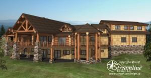 Chilson Log Home Plans