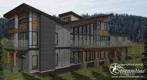 Chinook Custom Timber Frame Plan