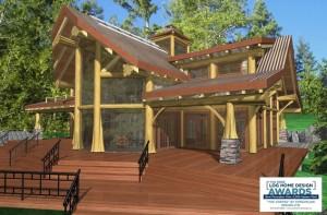 Cortes Log Home Plans 1