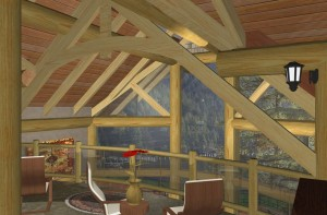 Cortes Log Home Plans 10