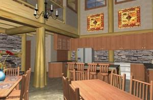 Cortes Log Home Plans 7