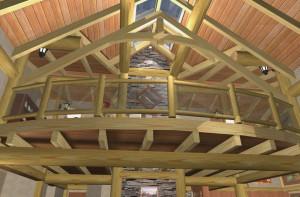 Cortes Log Home Plans 9