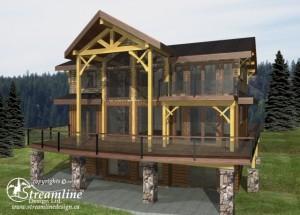 Creekside Timber Frame Plan