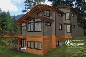 Emma Lake Timber Frame Design Plan