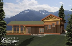 Garden Bay Timber Frame Plan