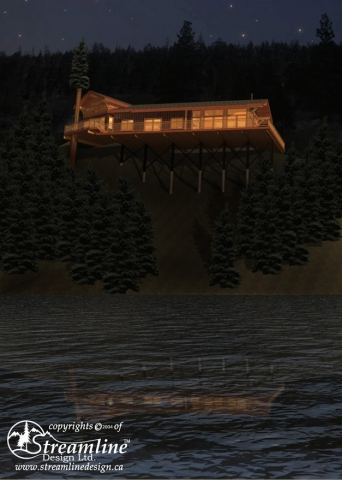 Garden Bay Timber Frame Plan