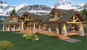 Garibaldi Log Home Plans