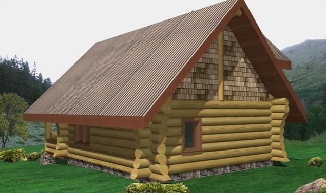 Gingolx Log Home Plans