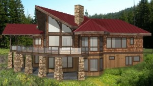Gleneagles Timber House Design