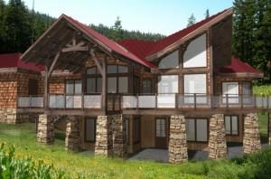 Gleneagles Timber House Design